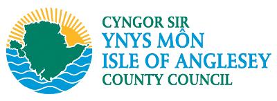Logo gwasanaethau cymdeithasol Cyngor Ynys Mon