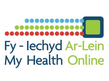 Logo Fy Iechyd Ar-lein